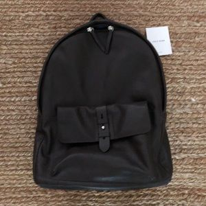 Cole Haan NWOT Chocolate Brown Leather Backpack